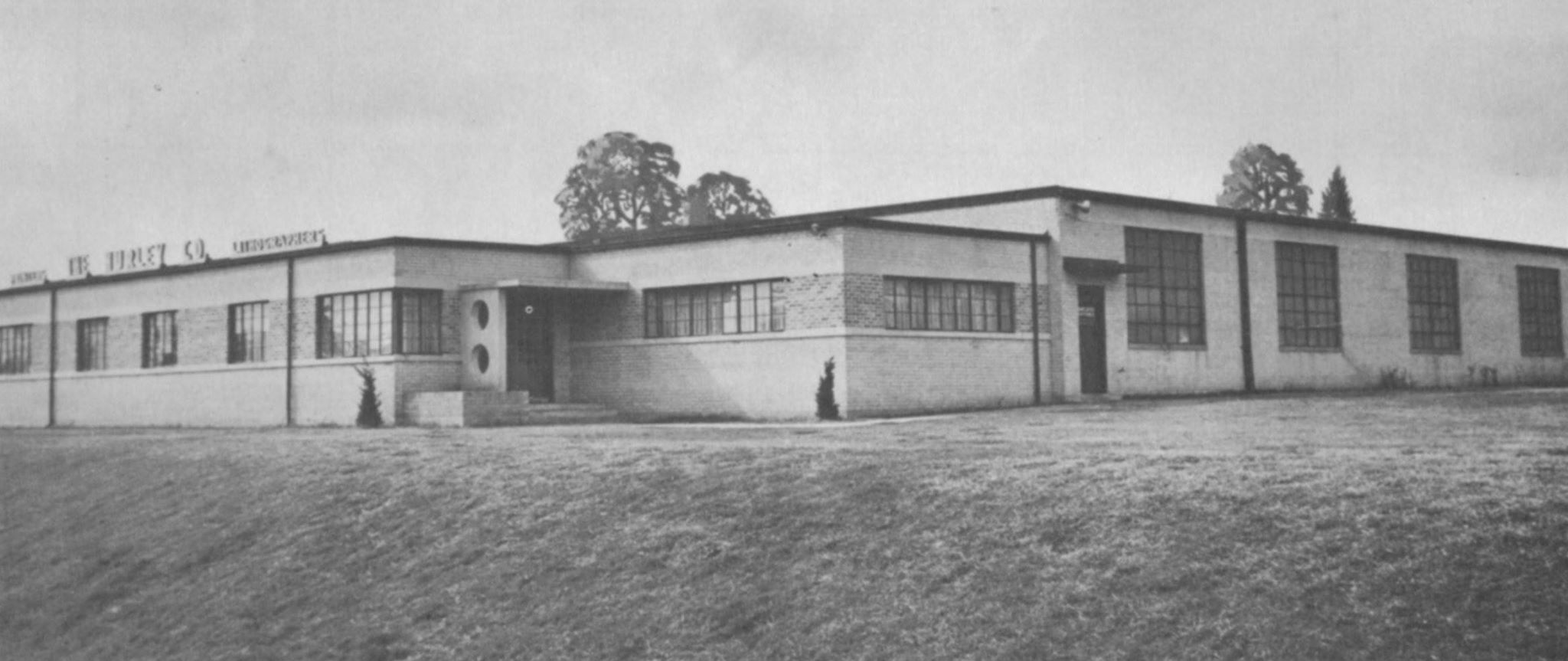 Hurley Company in 1955, now the Camden Police Department