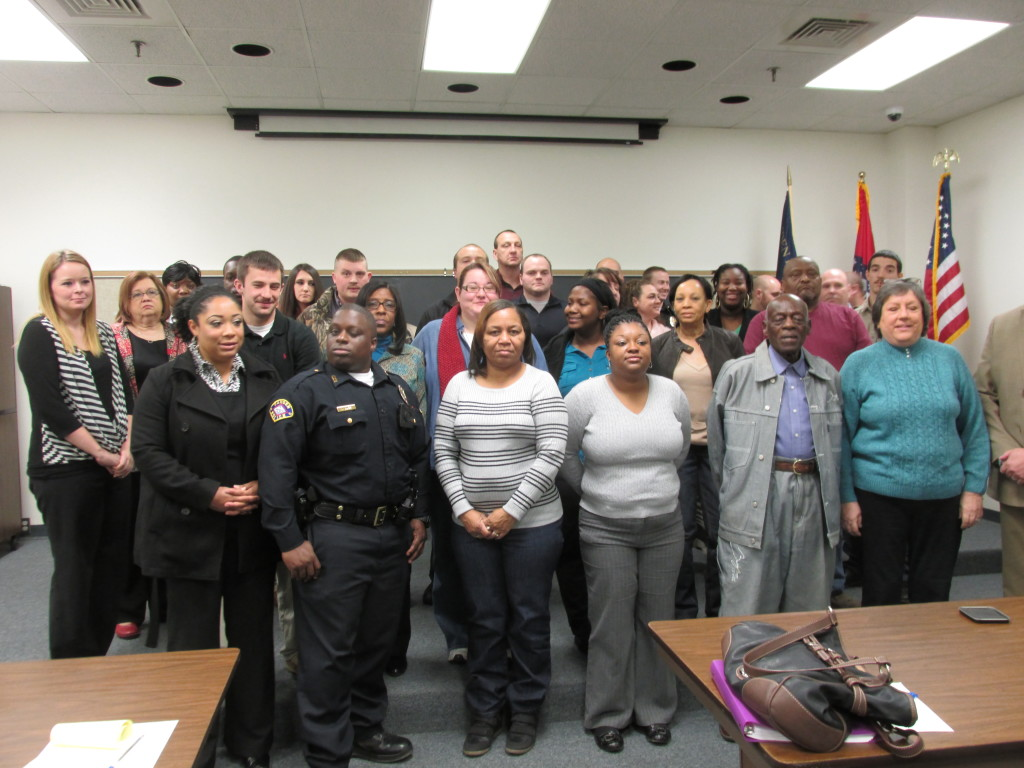 Mayor Trisollini and the Camden Police Department